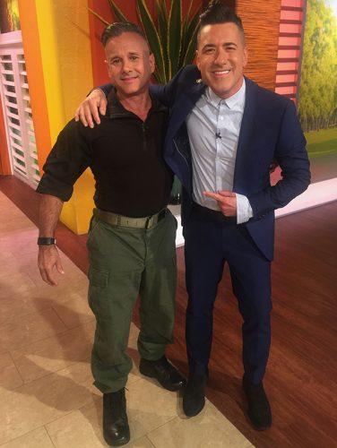 Telemundo's Un Nuevo Dia with Jorge Bernal